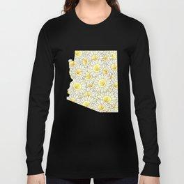 Arizona in Flowers Long Sleeve T-shirt