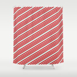 Carnival Stripes Shower Curtain