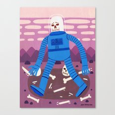 Sad Spaceman  Canvas Print