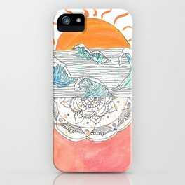 Landscape of the Soul iPhone Case