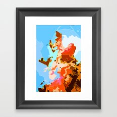 Stop Thinking About Sex Framed Art Print