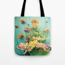 I Carry You With Me Into the World Tote Bag