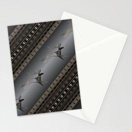 Elk Spirit (Gray) Stationery Cards