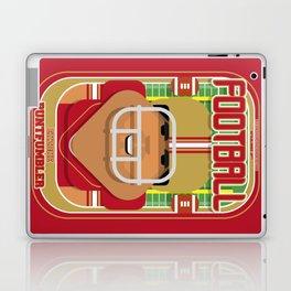 American Football Red and Gold - Enzone Puntfumbler - Seba version Laptop & iPad Skin