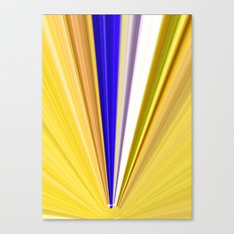 Streams Of Light And Color Canvas Print