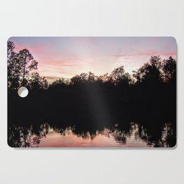 Sunset on the Ponds Cutting Board