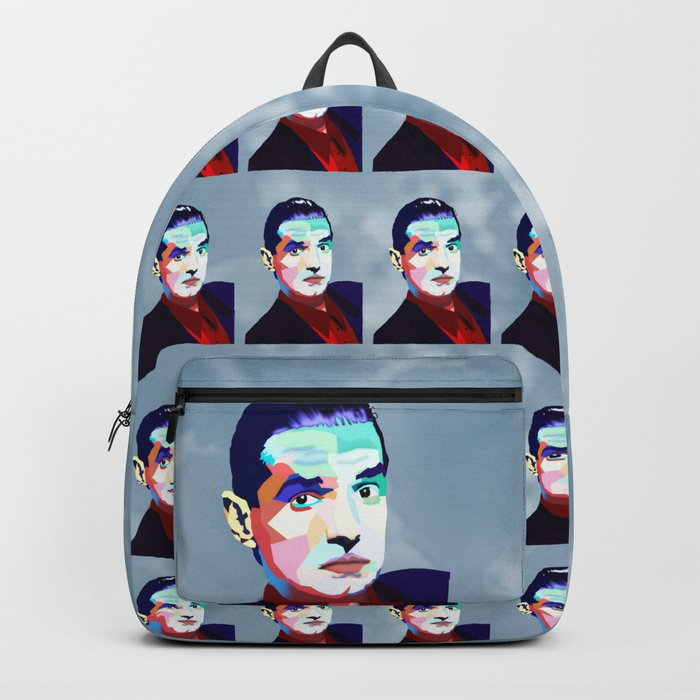 Portrait of Hans Holzel (Falco) Backpack