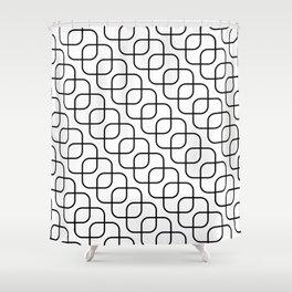 kaskada (white) Shower Curtain