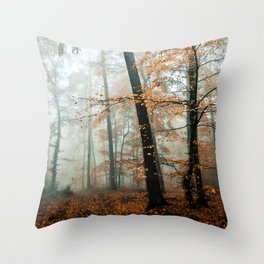 forest colors Throw Pillow