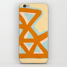 Vintage triangles iPhone & iPod Skin