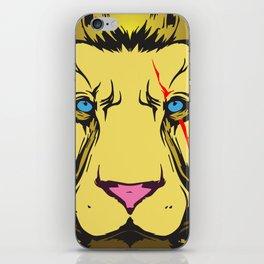 jungle king iPhone Skin