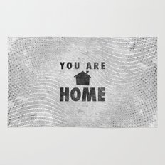 You Are Home Rug
