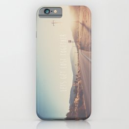 lets get lost together ...  iPhone Case