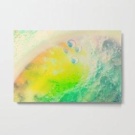 Dreamy Underwater Pastel Colors Metal Print
