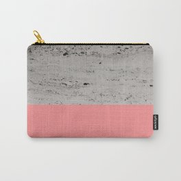 Light Coral on Concrete #2 #decor #art #society6 Carry-All Pouch