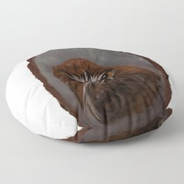 Red Tailed Hawk Floor Pillow