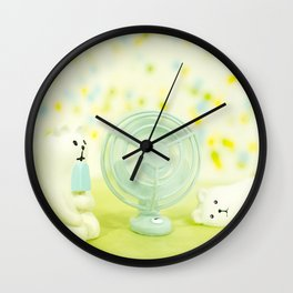 Chilling Too Wall Clock