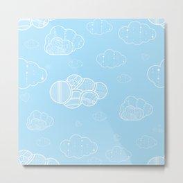 A cloudy sky Metal Print
