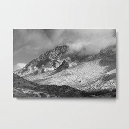 Stormy Mountain Metal Print