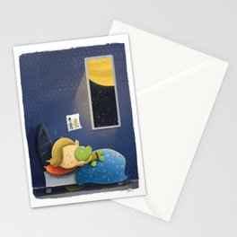 Cuddly Captain Kirk Stationery Cards
