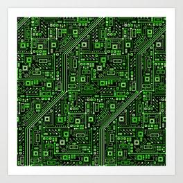 Short Circuits Art Print