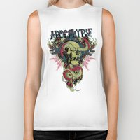 apocalypse now Biker Tanks featuring Apocalypse now by Tshirt-Factory