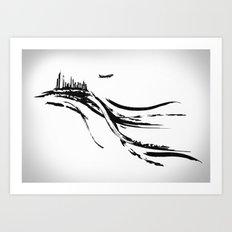 Transfert Art Print