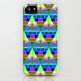 Inverted Lit Rainbow iPhone Case