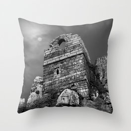 Roche Rock, Cornwall, England, United Kingdom Throw Pillow
