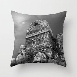 Roche Rock, Cornwall, England, United Kingdom Throw Pillow