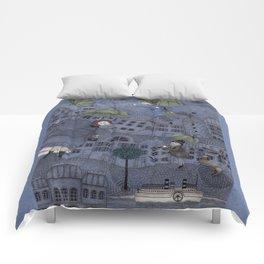 Monsieur Millet's Umbrellas Comforters