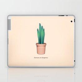 Cactuses Are Dangerous Laptop & iPad Skin