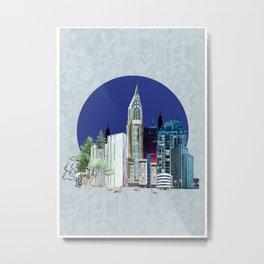 Urbanization Metal Print