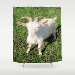 Billy 'The Goat' Shower Curtain