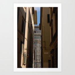 firenze - catedrale Art Print