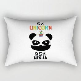 Panda Ninja Rectangular Pillow