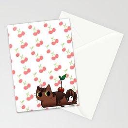 Chocolate Tabby Stationery Cards