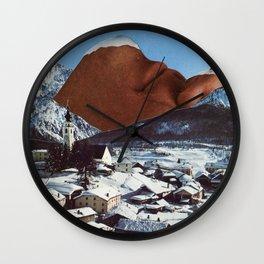 Mount Chin Wall Clock