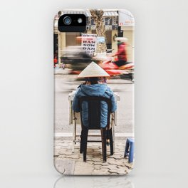 The passing of time in Hanoi, Vietnam iPhone Case