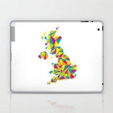 Abstract United Kingdom Bright Earth Laptop & iPad Skin