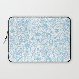 Blue , fishnet , lace Laptop Sleeve