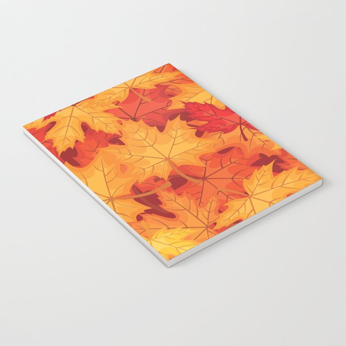Autumn leaves #10 Notebook