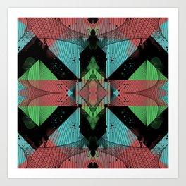 pattern c2 Art Print
