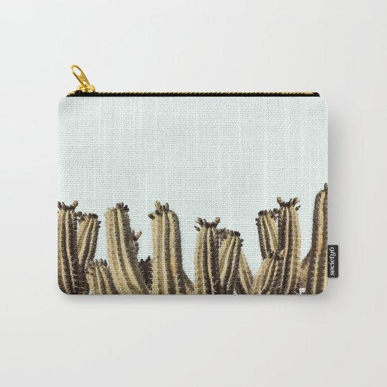 Vintage Cactus Carry-All Pouch