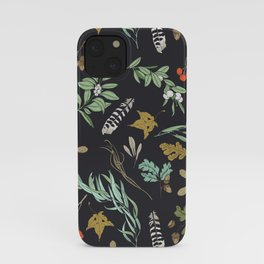Boho vintage nature iPhone Case