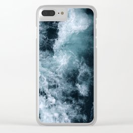 Lake Superior #1 Clear iPhone Case