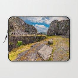 Dinorwic Slate Quarry Snowdonia Laptop Sleeve