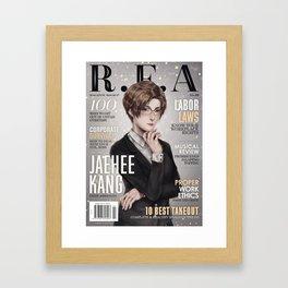[RFA Cover] Jaehee Kang Framed Art Print
