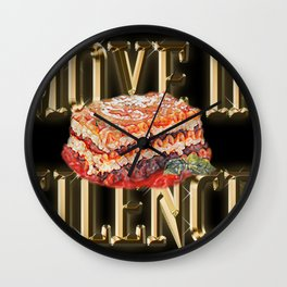 Real G's Move In Silence Like Lasagna Wall Clock