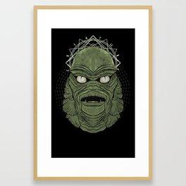 Worship Creatures Framed Art Print